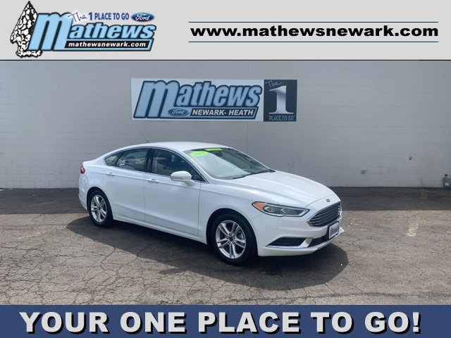 2018 Ford Fusion SE Sedan Automatic 1.5 L 4-Cylinder Engine FWD 4 Door