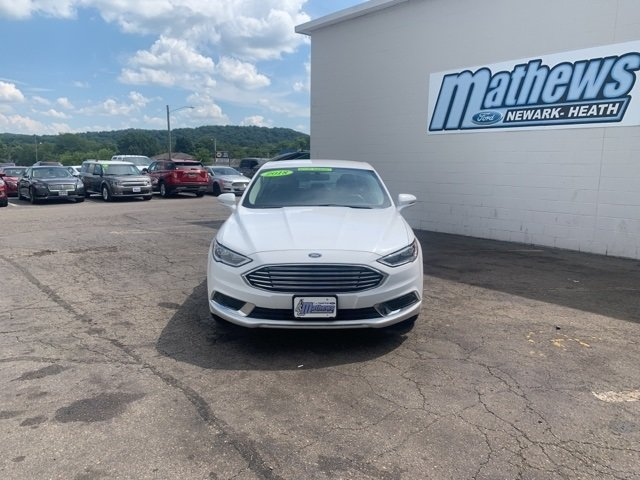 2018 Ford Fusion SE Sedan 4 Door 1.5 L 4-Cylinder Engine