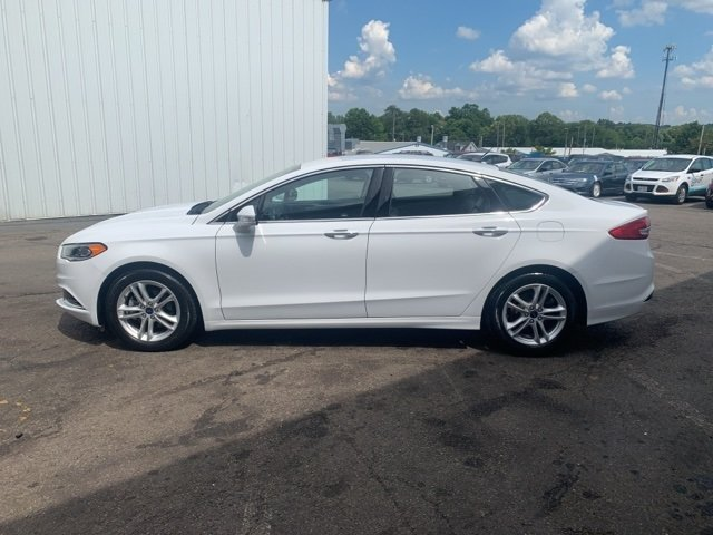 2018 Ford Fusion SE 4 Door 1.5 L 4-Cylinder Engine Sedan Automatic
