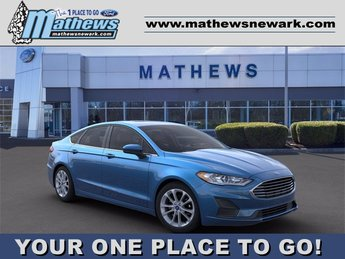 2020 Velocity Blue Metallic Ford Fusion SE 1.5 L 4-Cylinder Engine Sedan 4 Door FWD Automatic