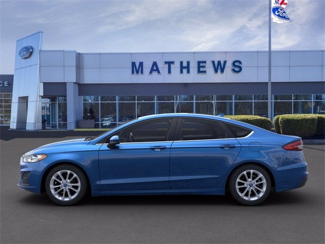 2020 Velocity Blue Metallic Ford Fusion SE FWD Automatic 4 Door Sedan 1.5 L 4-Cylinder Engine