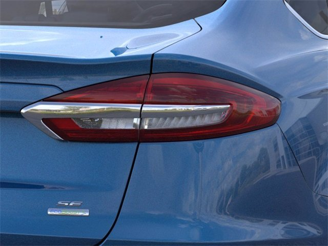 2020 Velocity Blue Metallic Ford Fusion SE FWD Sedan 1.5 L 4-Cylinder Engine 4 Door