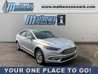 2017 Ford Fusion SE 1.5 L 4-Cylinder Engine 4 Door Car FWD