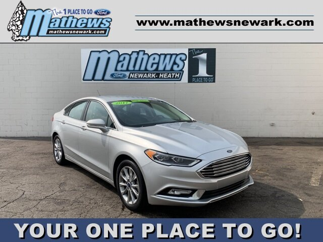 2017 Ford Fusion SE Sedan 1.5 L 4-Cylinder Engine FWD 4 Door Automatic