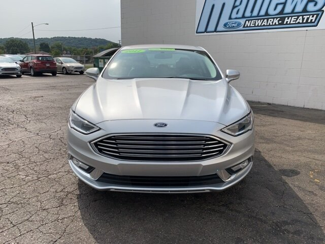 2017 Ford Fusion SE 4 Door FWD Sedan 1.5 L 4-Cylinder Engine Automatic