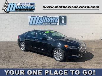 2017 SHADOW_BLACK Ford Fusion SE Automatic 4 Door 1.5 L 4-Cylinder Engine Car FWD
