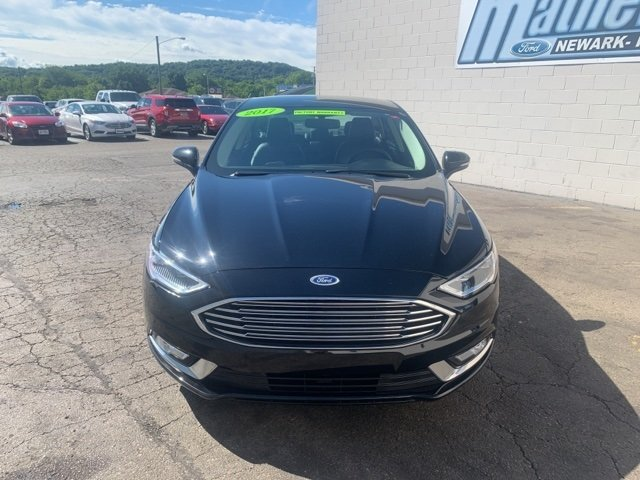 2017 SHADOW_BLACK Ford Fusion SE FWD Automatic 4 Door