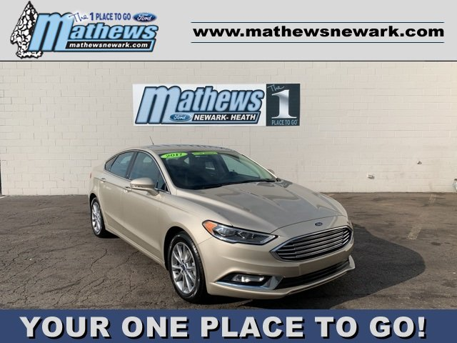 2017 Ford Fusion SE FWD Automatic Sedan 1.5 L 4-Cylinder Engine