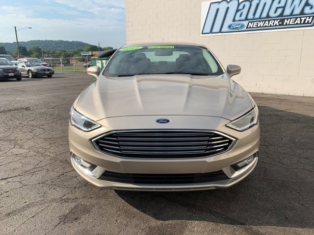 2017 Ford Fusion SE 1.5 L 4-Cylinder Engine FWD Sedan 4 Door Automatic