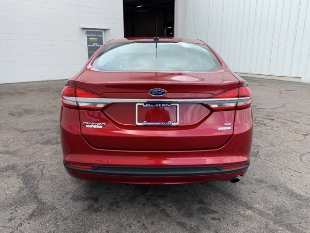 2017 Ford Fusion SE Automatic 1.5 L 4-Cylinder Engine 4 Door FWD