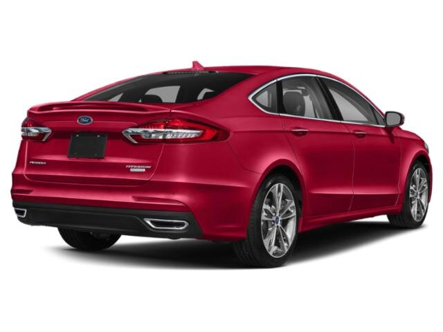 2020 Ford Fusion Titanium Sedan 4 Door FWD 2.0 L 4-Cylinder Engine Automatic