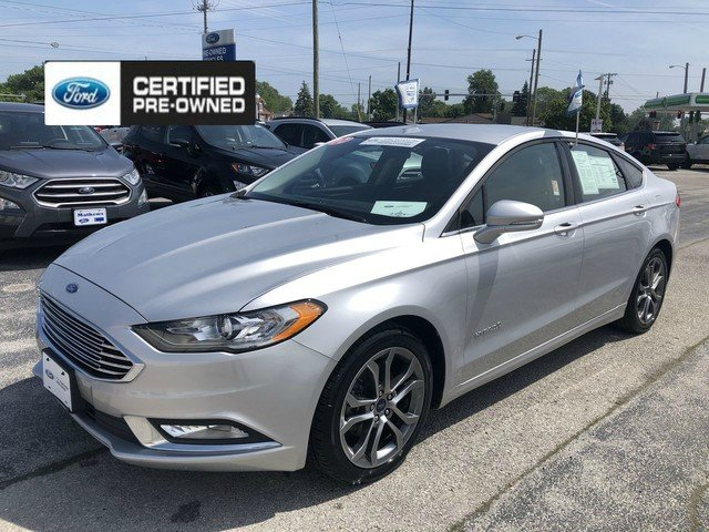 Certified 2017 Ford Fusion Hybrid Se Fwd Sedan For Sale Sandusky Oh P5156
