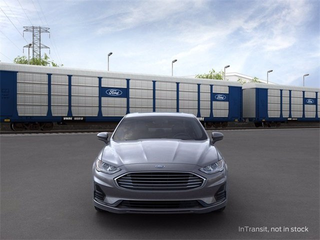 2020 Magnetic Metallic Ford Fusion Hybrid SE Sedan 2.0 L 4-Cylinder Engine Automatic (CVT)