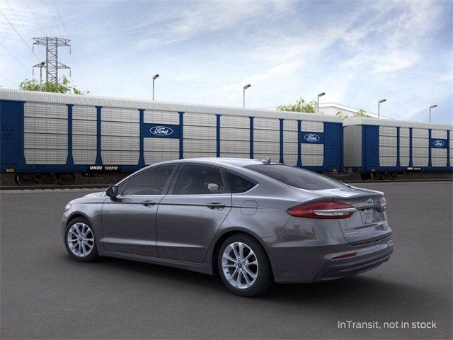 2020 Magnetic Metallic Ford Fusion Hybrid SE Automatic (CVT) Sedan 4 Door