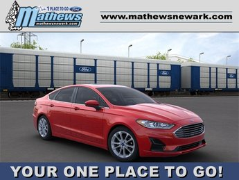2020 RAPID_RED Ford Fusion Hybrid SE Car Automatic (CVT) 2.0 L 4-Cylinder Engine