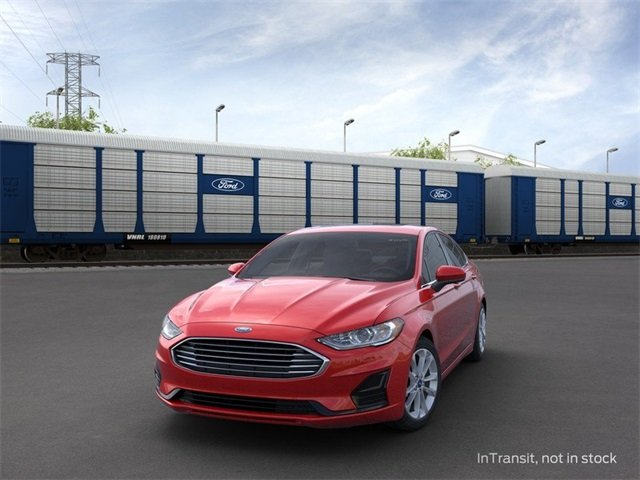 2020 RAPID_RED Ford Fusion Hybrid SE 4 Door FWD Automatic (CVT) Sedan