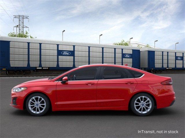 2020 RAPID_RED Ford Fusion Hybrid SE 4 Door FWD Sedan