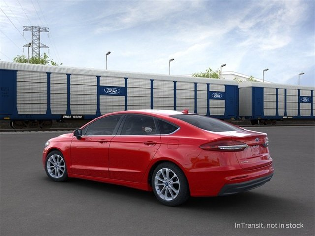 2020 RAPID_RED Ford Fusion Hybrid SE 2.0 L 4-Cylinder Engine Sedan FWD 4 Door