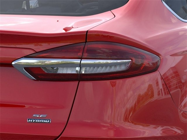 2020 RAPID_RED Ford Fusion Hybrid SE 4 Door Automatic (CVT) 2.0 L 4-Cylinder Engine