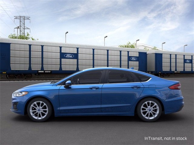 2020 Velocity Blue Metallic Ford Fusion Hybrid SE FWD 2.0 L 4-Cylinder Engine 4 Door Automatic (CVT)