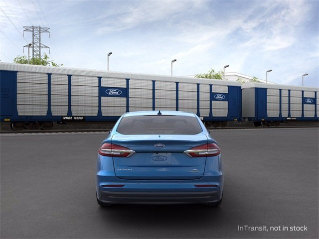 2020 Velocity Blue Metallic Ford Fusion Hybrid SE 4 Door Automatic (CVT) 2.0 L 4-Cylinder Engine