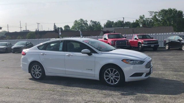 2017 Ford Fusion Hybrid SE 2.0L 4-Cyl Engine Automatic Sedan 4 Door