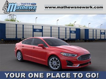 2020 RAPID_RED_METALLIC Ford Fusion Hybrid SEL 4 Door FWD Automatic (CVT) Car
