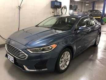 2019 METALLIC Ford Fusion Hybrid SEL Sedan Automatic 4 Door