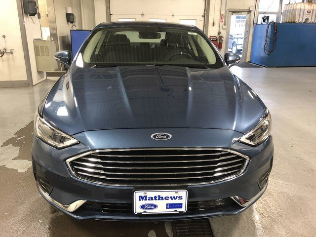 2019 METALLIC Ford Fusion Hybrid SEL 4 Door Automatic Sedan FWD