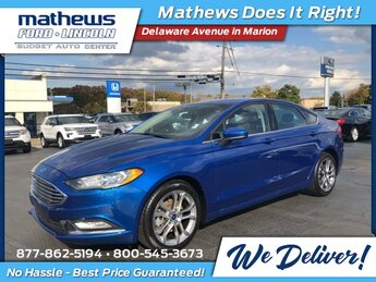 2017 Ford Fusion SE EcoBoost 2.0L I4 GTDi DOHC Turbocharged VCT Engine Automatic AWD 4 Door Sedan