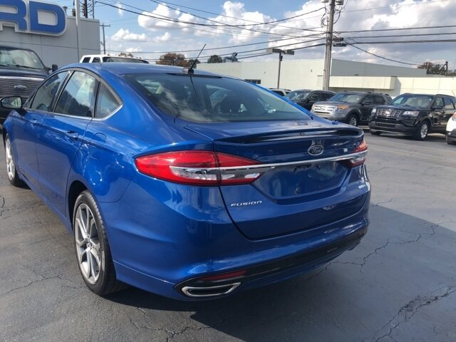 2017 Ford Fusion SE Automatic 4 Door AWD
