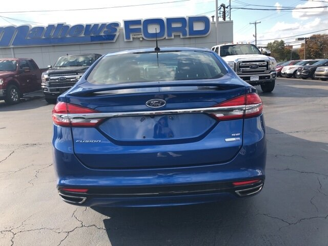 2017 Ford Fusion SE AWD 4 Door EcoBoost 2.0L I4 GTDi DOHC Turbocharged VCT Engine