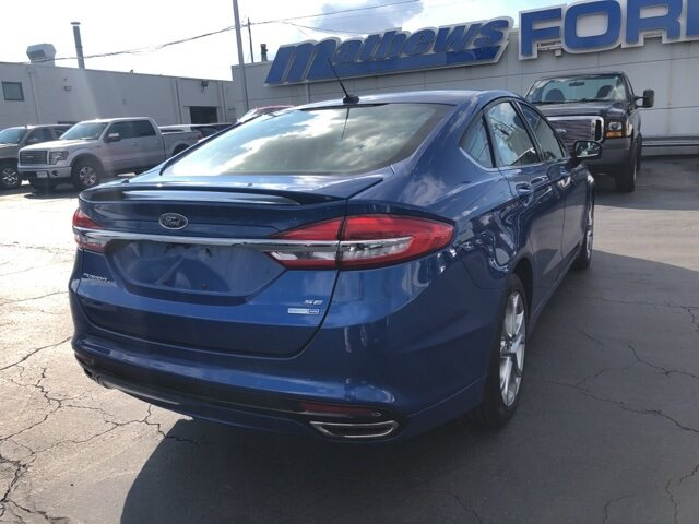 2017 Ford Fusion SE 4 Door Automatic AWD