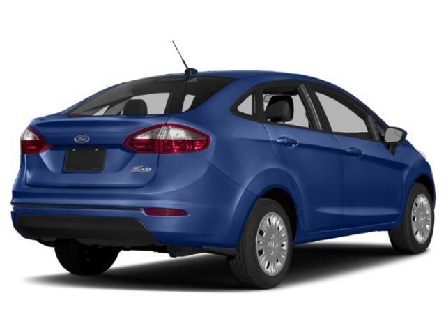 2019 Lightning Blue Metallic Ford Fiesta SE 4 Door FWD Sedan