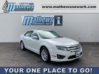 2012 Ford Fusion SEL Car 4 Door 2.5L 4-Cylinder Engine
