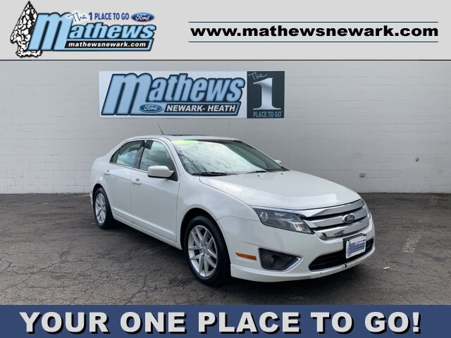 2012 Ford Fusion SEL FWD 4 Door 2.5L 4-Cylinder Engine Automatic Sedan
