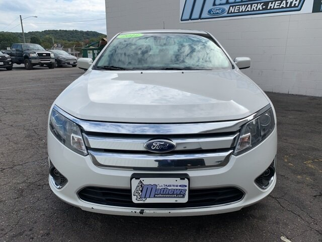 2012 Ford Fusion SEL Automatic 4 Door FWD 2.5L 4-Cylinder Engine Sedan