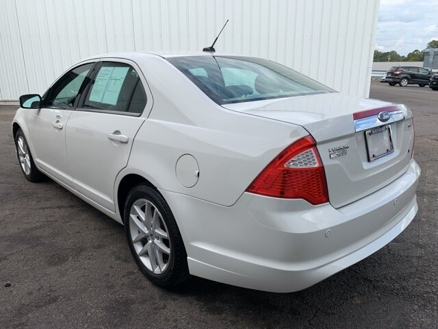 2012 White Ford Fusion SEL 2.5L 4-Cylinder Engine Automatic 4 Door Sedan