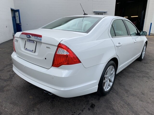 2012 Ford Fusion SEL FWD 2.5L 4-Cylinder Engine 4 Door Automatic
