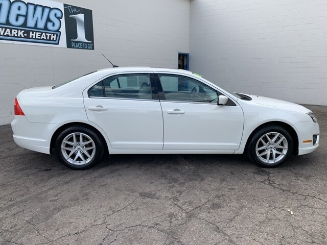 2012 White Ford Fusion SEL 2.5L 4-Cylinder Engine FWD 4 Door Automatic Sedan
