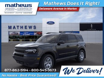 2021 Shadow Black Ford Bronco Sport Base 4 Door Automatic 1.5L EcoBoost Engine SUV 4X4