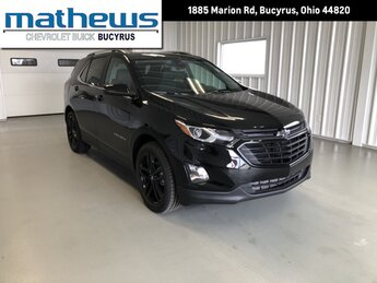2021 Mosaic Black Metallic Chevrolet Equinox LT 1.5L Turbo DOHC 4-Cyl SIDI VVT Engine SUV 4 Door