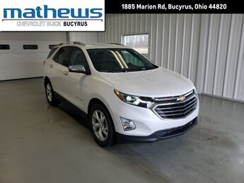 2021 Chevrolet Equinox Premier SUV 4 Door 1.5L Turbo DOHC 4-Cyl SIDI VVT Engine
