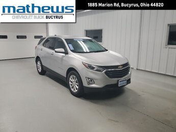 2020 Chevrolet Equinox LT SUV 4 Door Automatic 1.5L Turbo DOHC 4-Cyl SIDI VVT Engine