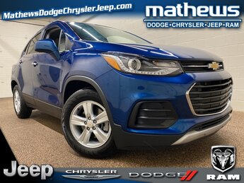 2020 Pacific Blue Metallic Chevrolet Trax LT SUV ECOTEC 1.4L I4 SMPI DOHC Turbocharged VVT Engine Automatic 4 Door FWD