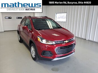 2020 Cajun Red Tintcoat Chevrolet Trax LT 4 Door AWD SUV Ecotec Turbo 1.4L VVT DOHC 4-Cyl Sequential MFI Engine Automatic