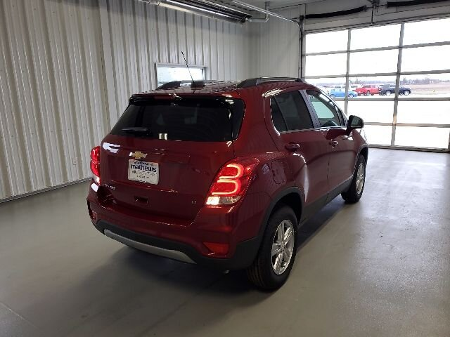 2020 Cajun Red Tintcoat Chevrolet Trax LT Ecotec Turbo 1.4L VVT DOHC 4-Cyl Sequential MFI Engine 4 Door AWD SUV