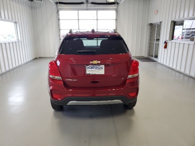 2020 Cajun Red Tintcoat Chevrolet Trax LT Automatic 4 Door Ecotec Turbo 1.4L VVT DOHC 4-Cyl Sequential MFI Engine