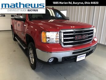 2013 Fire Red GMC Sierra 1500 SLE Truck 4X4 4 Door 5.3L Vortec 1000 VVT V8 SFI Flex-Fuel Engine