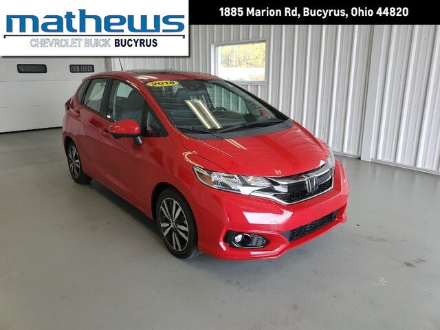 2018 Honda Fit EX-L Automatic 4 Door FWD Hatchback